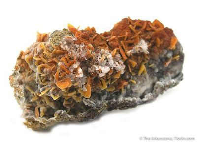 Quartz Ps. Wulfenite