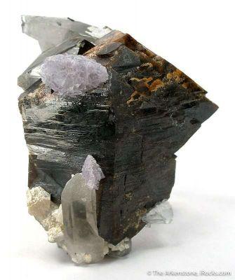 Scheelite, Fluorite, Quartz