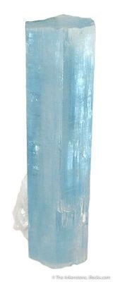 Aquamarine With Albite