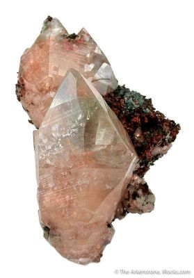 Copper-Included Calcite on Copper