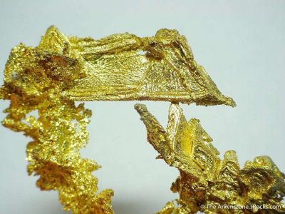 Gold (3 Cm Twinned Crystal!)