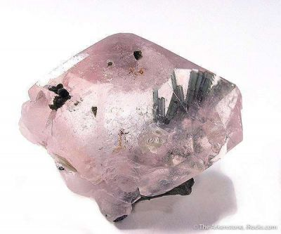 Morganite Included By Tourmaline