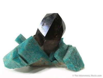 Smoky Quartz With Amazonite