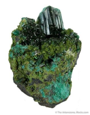 Gartrellite With Olivenite