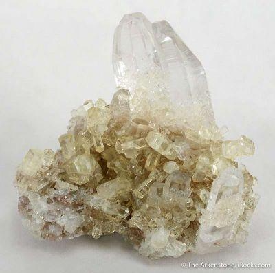 Thaumasite on Calcite