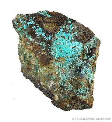 Chalcophyllite (Large Piece!)