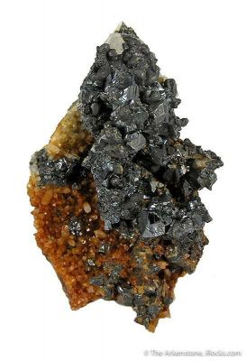 Hessite With Sphalerite
