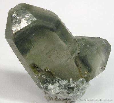 Quartz (Japan Law) Included By Epidote