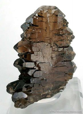 Smoky Quartz (Really Twisted Gwindel)