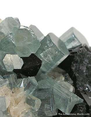 Fluorite, Fluorapatite, and Bertrandite