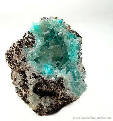 Hopeite in Smithsonite