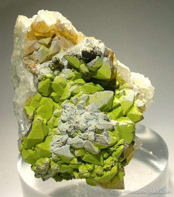 Pyromorphite and Quartz