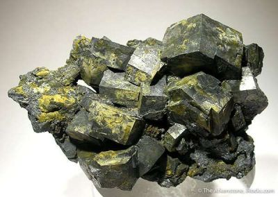 Pyromorphite Altering to Galena, With Secondary Pyromorphite