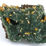 Wulfenite (Bipyramidal) With Mimetite