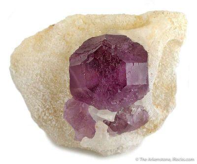 Fluorite in Quartz