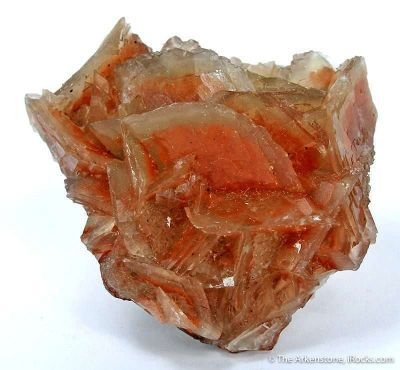 Calcite With Hematite Inclusion