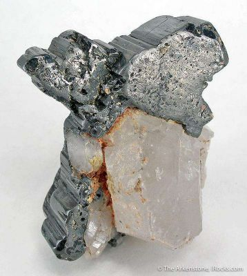 Bournonite on Quartz