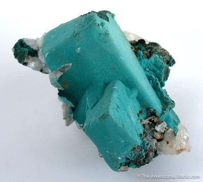 Rosasite Ps. After Malachite Ps. After Azurite