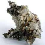 Smithsonite Included By Copper (Rare Association)