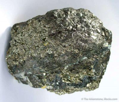 Colusite on Pyrite