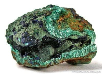 Theisite With Azurite