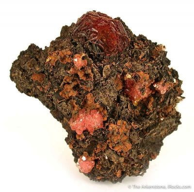 Shigaite With Rhodochrosite