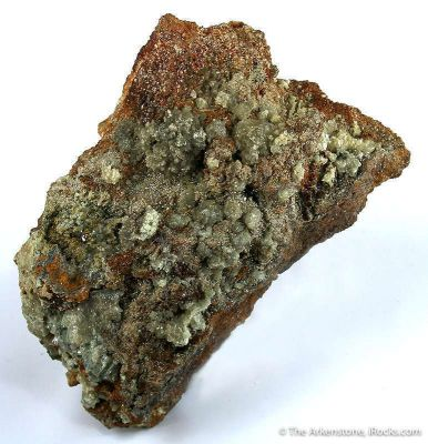 Chlorargyrite (Bromian-Rich) With Iodargyrite