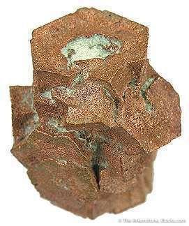Tn 1081 - Copper Pseudomorph After Aragonite (Floater)