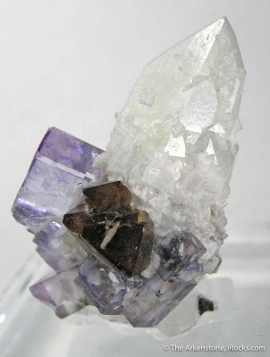 Fluorite, Scheelite, and Quartz