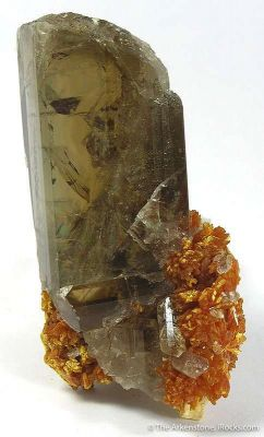 Baryte With Orpiment
