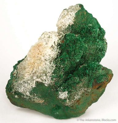 Malachite With Hyalite Opal