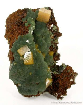 Wulfenite With Mimetite