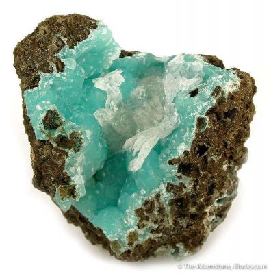 Smithsonite With Calcite