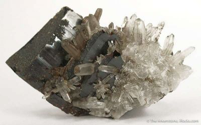 Hubnerite and Quartz