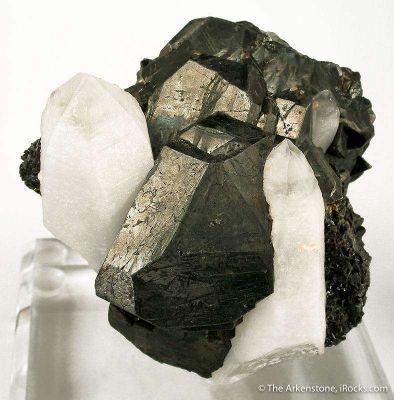 Tetrahedrite And Quartz