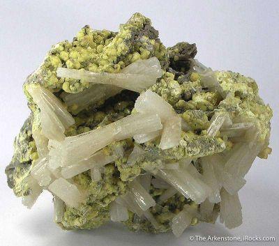 Celestine With Sulfur