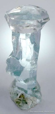 Aquamarine (Etched)