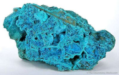 Chrysocolla In Tyrolite With Clinotyrolite