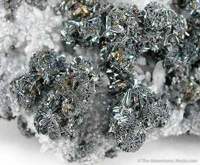 Chalcostibite on Tetrahedite