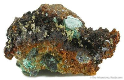 Miersite With Cuprite