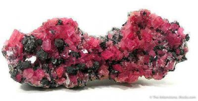 Rhodochrosite With Tetrahedrite on Quartz