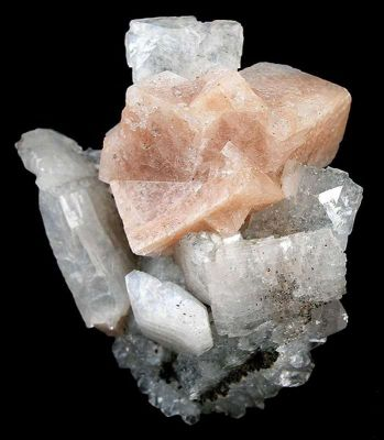 Chabazite on Heulandite