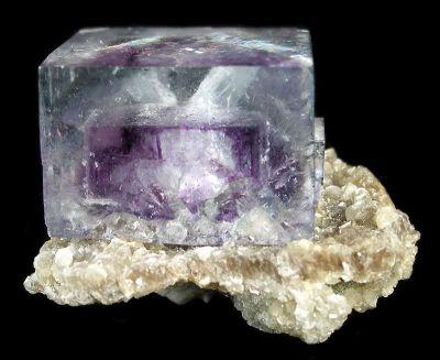 Fluorite and Muscovite