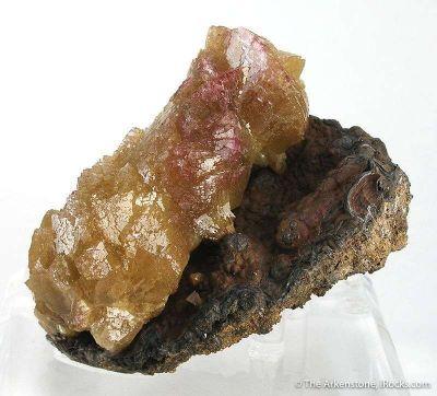 Adamite Transitioning to Manganoan Adamite