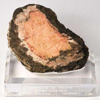 Hureaulite In Phosphate Nodule (Palaite)