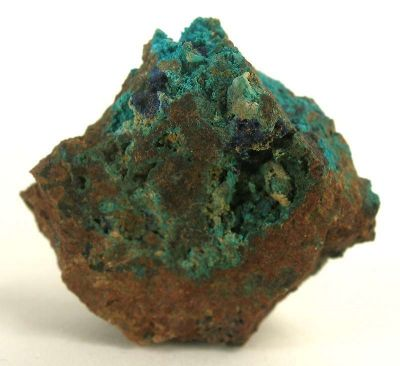 Lavendulanite With Azurite