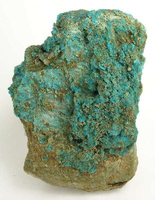 Boothite With Arseniosiderite