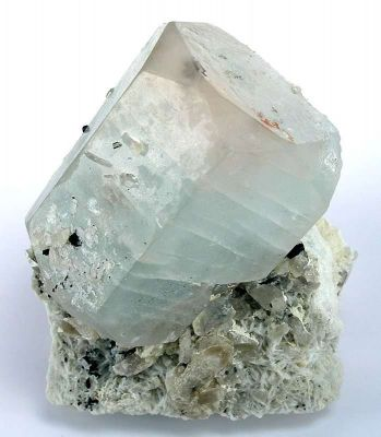 Beryl Var. Aquamarine With Morganite