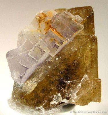 Scheelite With Fluorite