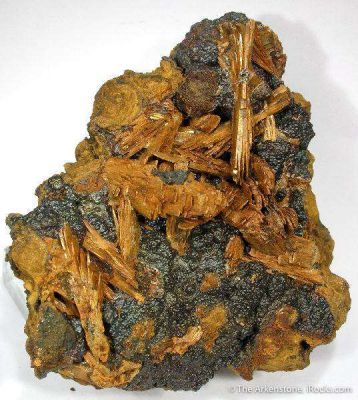 Santabarbaraite Ps. Vivianite